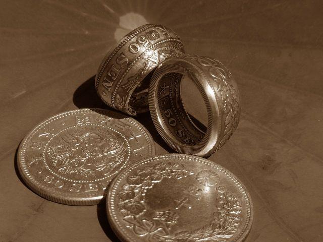 日本の銀貨
